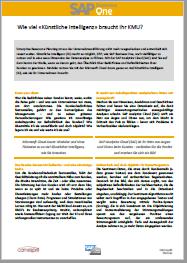 SAP Business One und künstliche Intelligenz