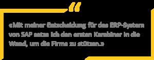 SAP Business One als Karabiner